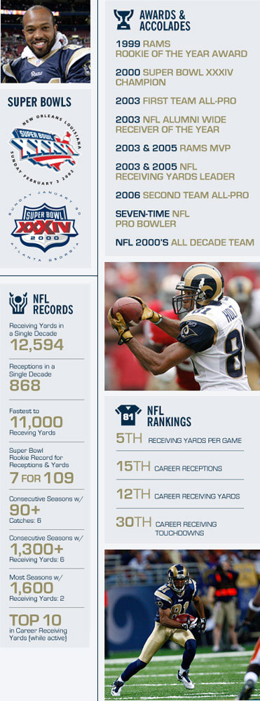 Torry Holt Stats